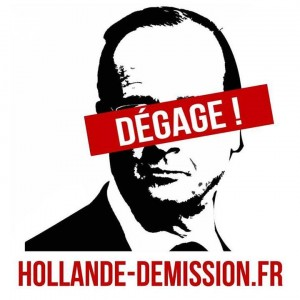 Hollande? Démission !