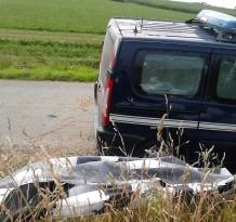 Collision... avec une camionnette de gendarmerie !