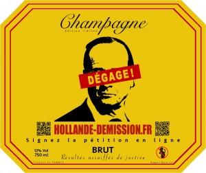 Le champagne pour faire tomber des têtes