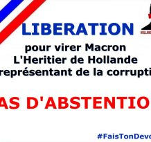 Virons Macron : PAS D'ABSTENTION